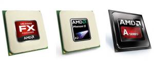 Selezione di CPU AMD