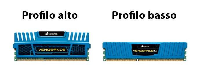 profilo alto basso memoria