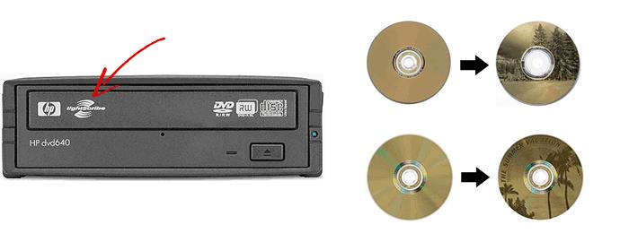 LightScribe dvd