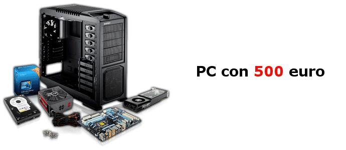 configurazione gaming 500 euro
