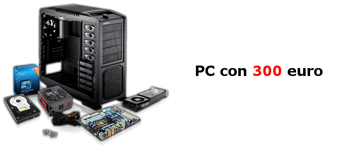 PC gaming 300 euro
