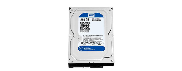 hard disk 250