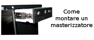 montare masterizzatore