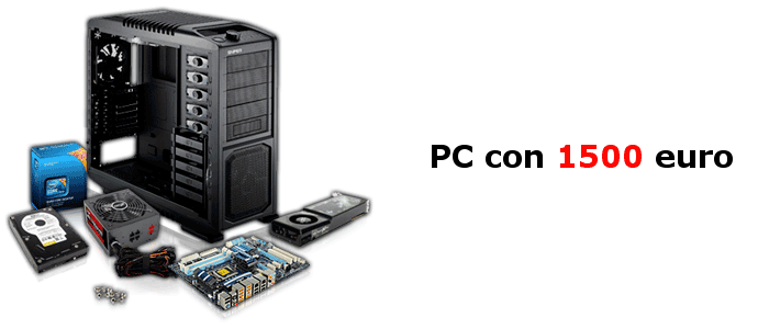 PC gaming 1500 euro