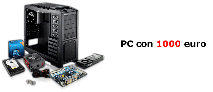 PC gaming 1000 euro