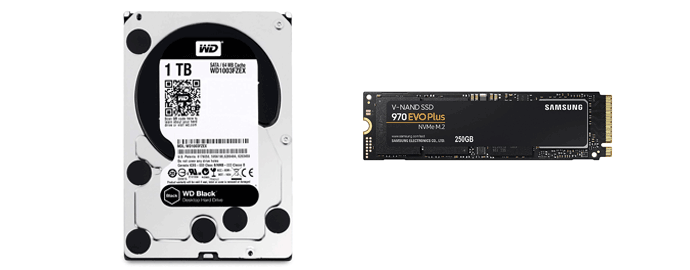 ssd hdd video editing