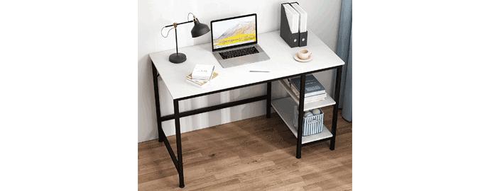 scrivania ripiani