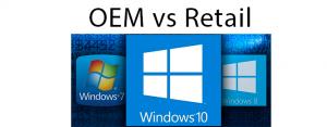 Differenza tra licenza OEM e Retail di Windows