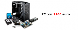 Assemblare PC gaming con 1100 euro