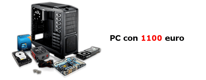 PC gaming 1100 euro