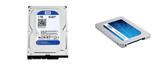 hard disk ssd crucial