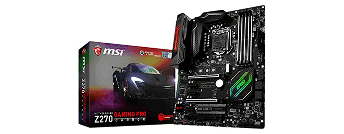 scheda madre msi carbon