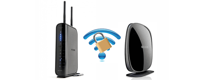 sicurezza wifi router