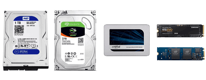 confronto hdd ssd sshd nvme