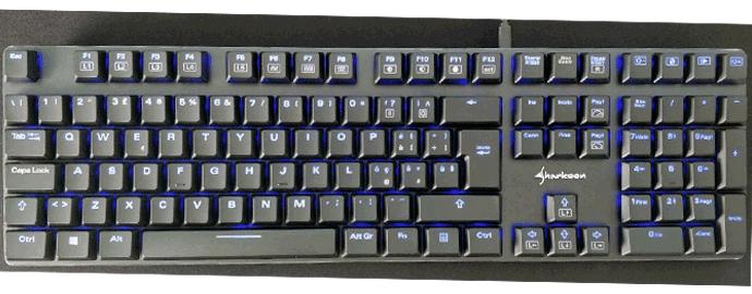 illuminazione led tastiera