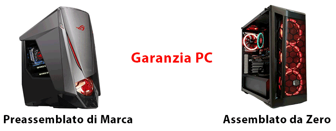 garanzia pc preassemblato