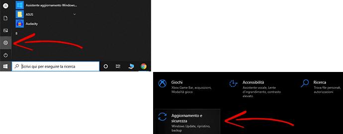 licenza aggiornamento windows